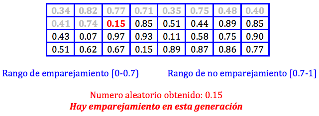 Algoritmo Genetico jarroba emparejamiento