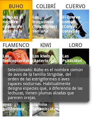 GridView que pueda ser pulsado - www.jarroba.com