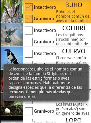 Pulsar en la fila del ListView con CheckBox en Android - www.jarroba.com