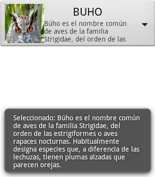 Spinner personalizado en Android 1 - www.jarroba.com