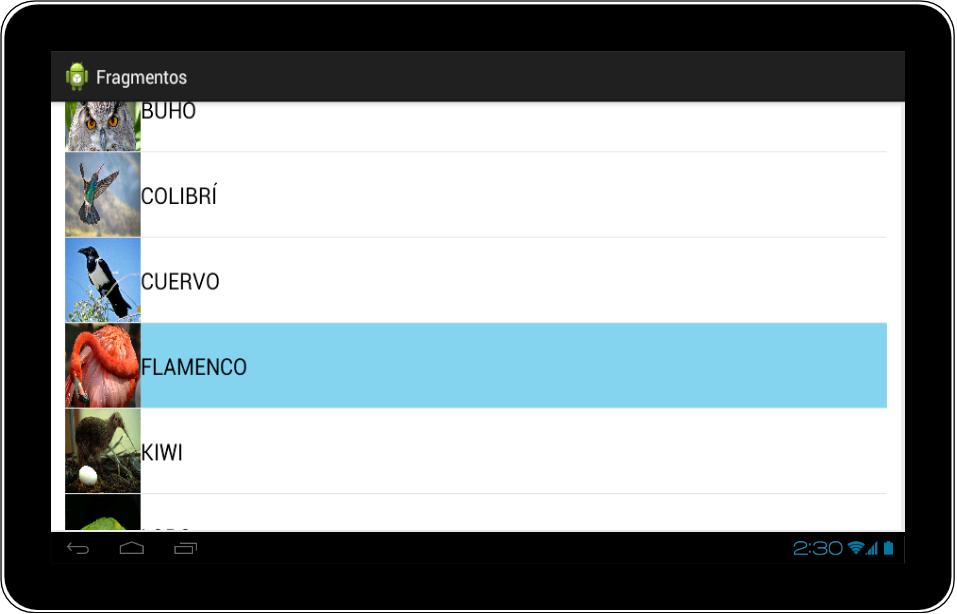 Ejemplo Tablet Mal Fragments Android - www.Jarroba.com