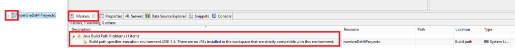 1 Error Maven en Eclipse Build path specifies execution environment... - www.jarroba.com