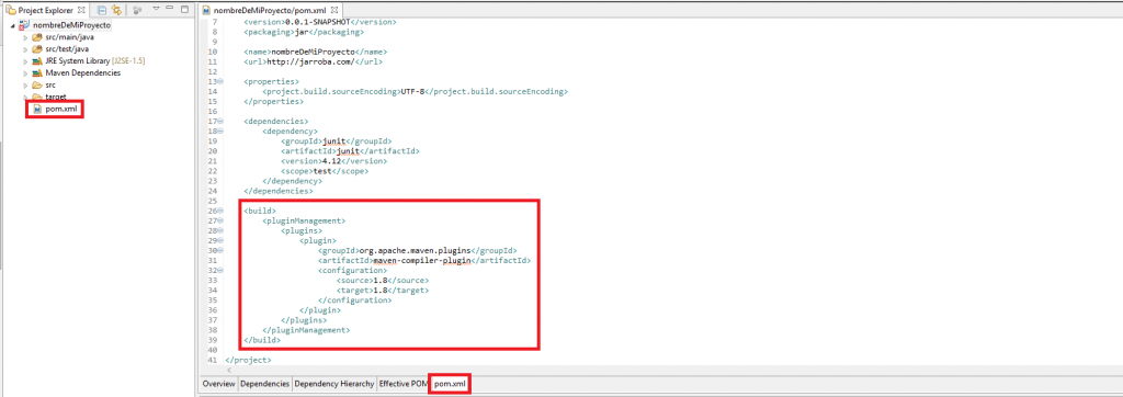 2 Error Maven en Eclipse Build path specifies execution environment... - www.jarroba.com