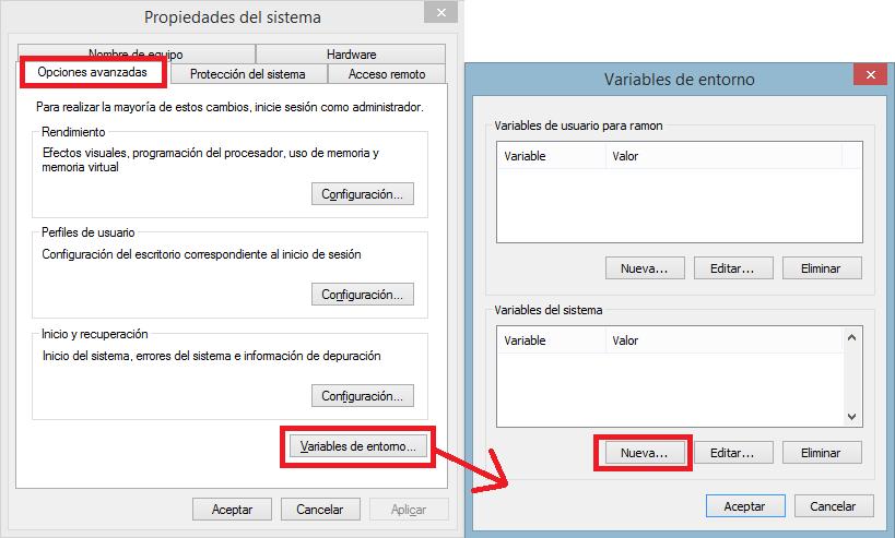 4 crear variable del sistema Maven - www.jarroba.com