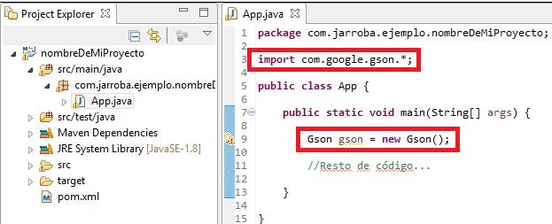5 ejemplo artefacto maven con dependencias en Eclipse - www.jarroba.com