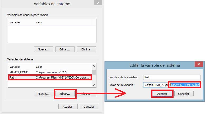 6 crear variable del sistema Maven - www.jarroba.com