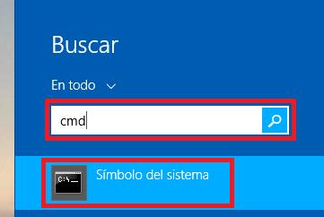 7 abir la consola de comandos o cmd en Windows - www.jarroba.com