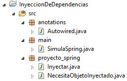 Proyecto Spring simulado con Annotations Java - www.jarroba.com