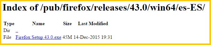 Código Hash al Descargar Firefox desde el historial de Releases 3 - www.jarroba.com