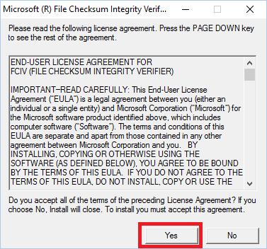 Instalar Microsoft File Checksum Integrity Verifier 2 - www.jarroba.com