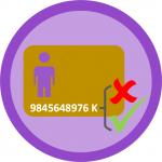 Dígito de control – Detección de errores