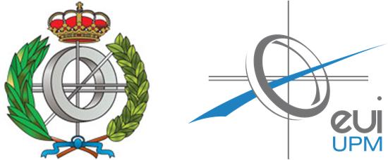 Logos de la universidad EUI UPM